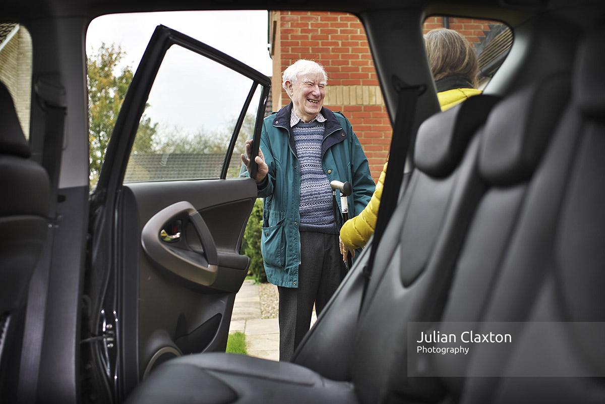 Creative Warehouse Shoot Cambirdge October 2018 Community Car Share App Julian Claxton Photography